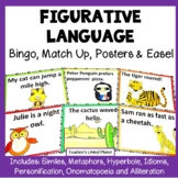 Figurative Language Games - Bingo, Match Up and Anchor Charts!