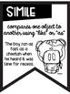 Figurative Language Black and White Banners Farm Theme ~Easy Printing~