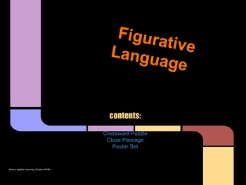 Figurative Language Bonus Pack