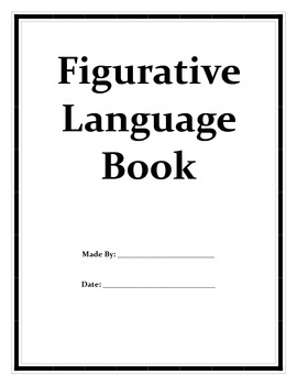 Figurative Language Book and Test