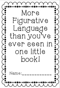 Figurative Language Book Grades 4-6 CCSS L.5