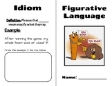 Figurative Language Booklet