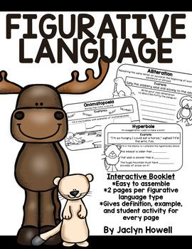 Figurative Language Booklet - Arctic Animals!