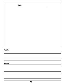 Figurative Language Booklet Project