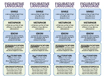 study guide of figurative language This guide can help keep you on track and make the most efficient use of your study time  the english language arts:  understands how figurative language.