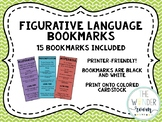 Figurative Language Bookmarks