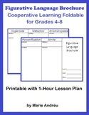 Figurative Language Brochure: Cooperative Learning Foldable for Grades 4-8