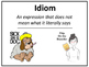 Figurative Language Bulletin Board/ Flashcards