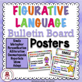 Figurative Language Bulletin Board Posters