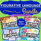 Figurative Language Bundle! Idioms, multiple meaning, similes, metaphors...