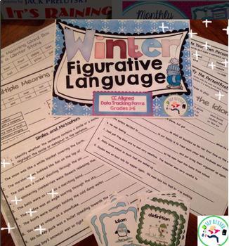 Figurative Language Bundle! Idioms, multiple meaning, similes, metaphors...