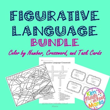 Figurative Language Bundle Great for Stations