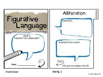 Figurative Language Bundle - Task Cards, Flip Book and More!