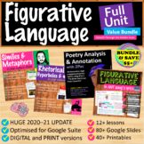 Figurative Language in Pop Culture Full Unit (Bundle)