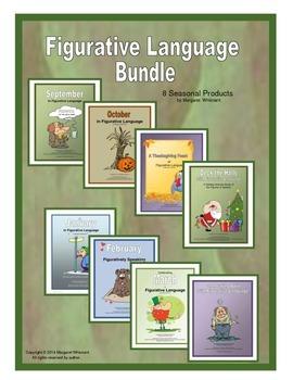 Figurative Language Bundle: Idioms, Metaphors, Personifica