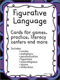 Figurative Language Cards for Games,Practice, Literacy Cen