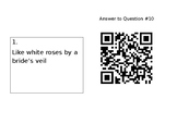 Figurative Language Carousel with QR Code Self Check