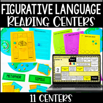 Figurative Language Centers | Reading Games