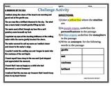 Figurative Language Challenge Activity (Late Elem/Middle Grades)