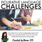 Figurative Language Challenge Bundle