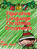 Figurative Language Christmas Ornaments