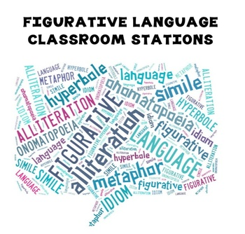 Figurative Language Classroom Stations