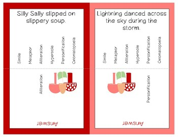 Figurative Language Clip and Flip