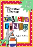 Figurative Language Collage Bingo, Interactive Notebook, Sub Plan, End of Year