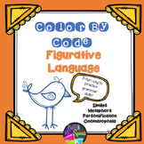 Figurative Language Grammar Practice - Color By Code!