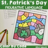 Figurative Language Color By Number St. Patrick's Day
