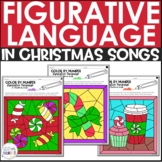 Figurative Language in Christmas Songs Color by Number