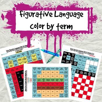 Figurative Language Color by term
