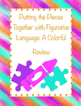 Figurative Language Coloring Page