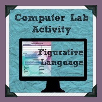 Figurative Language Computer Lab Activity