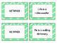 Figurative Language Concentration Matching Game