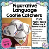 Figurative Language Cootie Catcher Plus Poetry Vocabulary