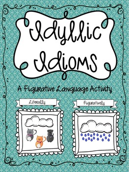 Figurative Language Craftivities