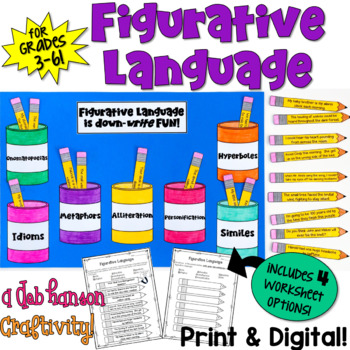 Figurative Language Craftivity