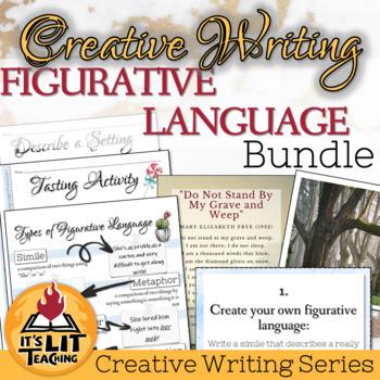 Figurative Language Creative Writing Bundle