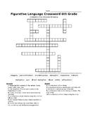 Figurative Language Crossword Puzzle 1