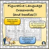 Figurative Language Crosswords and Doodles