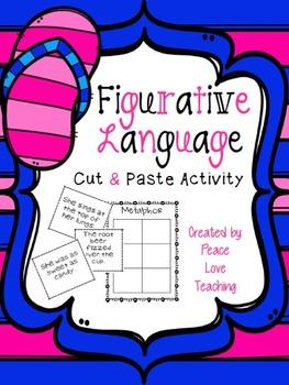 Figurative Language - Cut & Paste