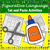 Figurative Language Cut and Paste Activities
