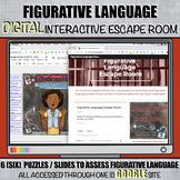 Figurative Language DIGITAL Escape Room: Using Google Suite