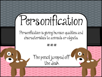 Figurative Language -DOG Theme- Posters