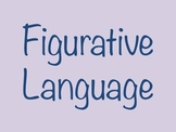 Figurative Language Definitions