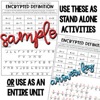 Figurative Language Definitions | Puzzle Games | Simile, Metaphor, Pun, etc.