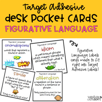 Figurative Language Desk Pockets