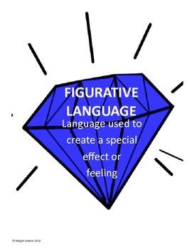 Figurative Language Diamonds
