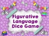 Figurative Language Dice Game: Common Core SS RL.4